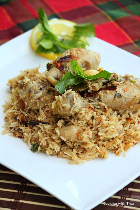 Chicken Biryani- South Indian Style