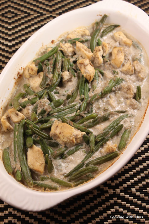Green Bean Chicken Casserole
