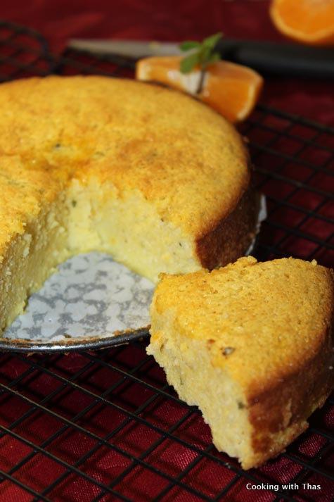 clementine-mint cake