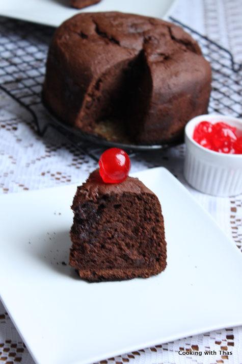 pressure cooker-chocolate cake