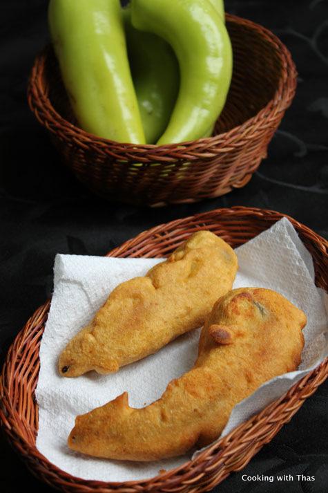 banana pepper-fritter