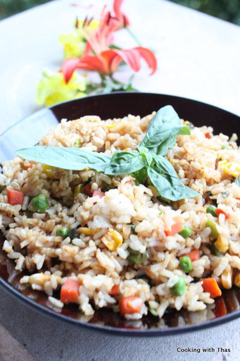 basil-fried-brown-rice