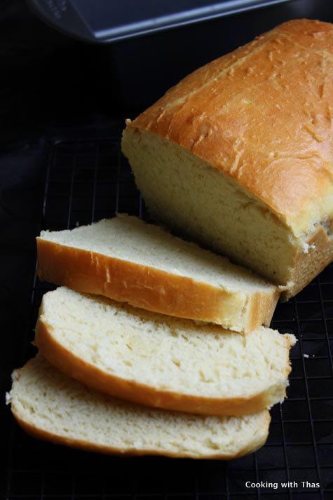 white bread- easy