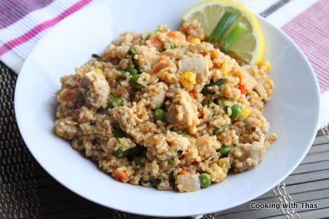 cracked wheat pilaf