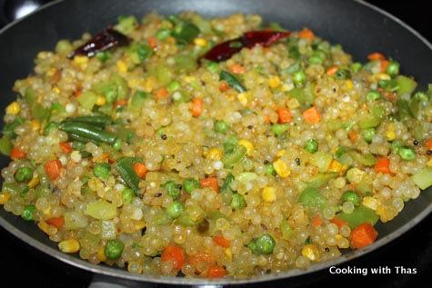 making sago kichadi