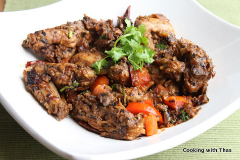 Chicken in tamarind sauce