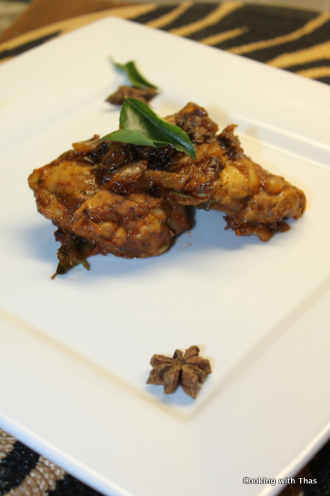 star anise-chicken