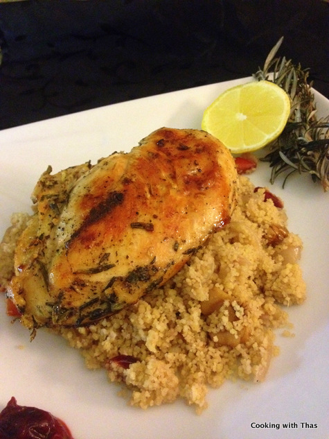 herb chicken-couscous