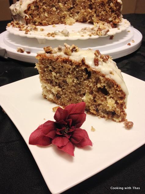 humming bird cake slice