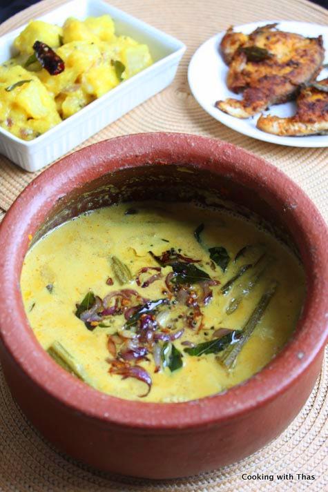fish in-coconut gravy