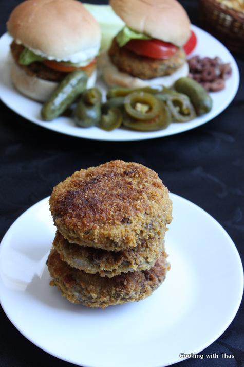 ground beef cutlet-burger