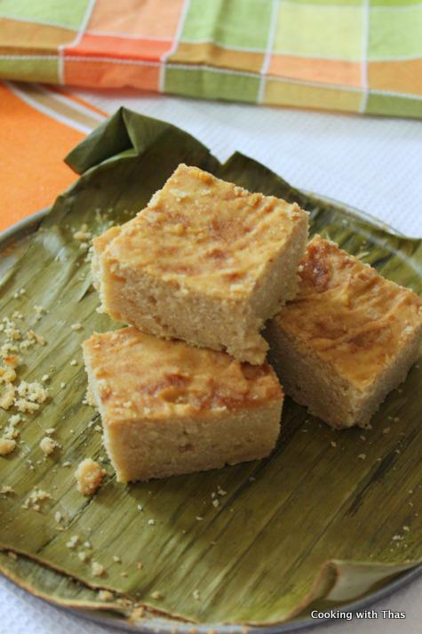 rice cake or bibingka
