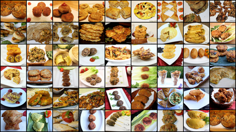 ramadan snacks collage