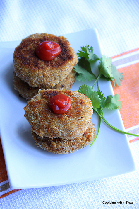 Asian-style chicken cutlet