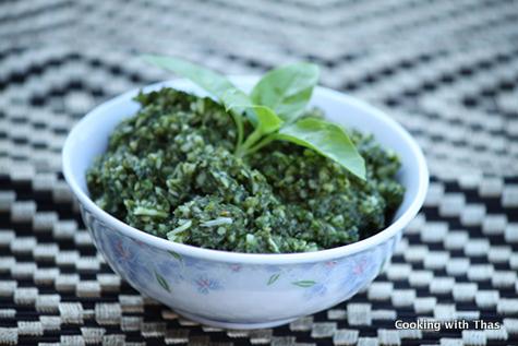 Pesto-recipe