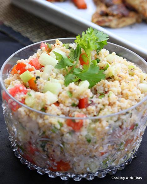 cracked wheat salad