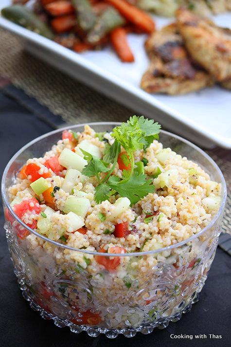 craked wheat-salad