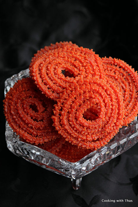 Beetroot murukku recipe
