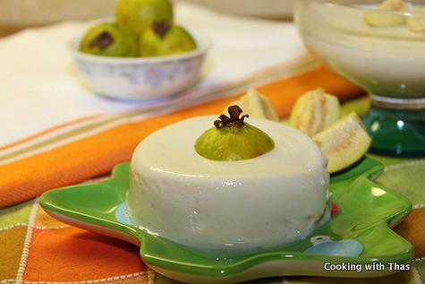 Guava pudding