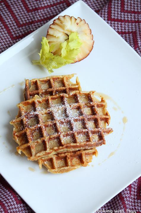 French toast-waffles