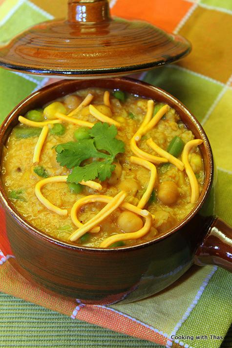 Oats-Veg soup