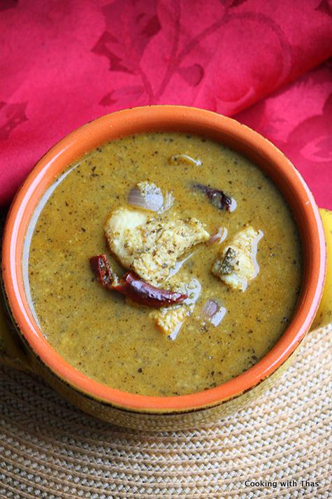 fish in curry leaf gravy
