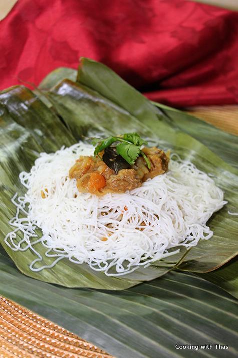 Beef Stuffed Idiyappam