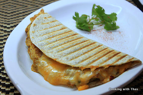 Omelette Buritto