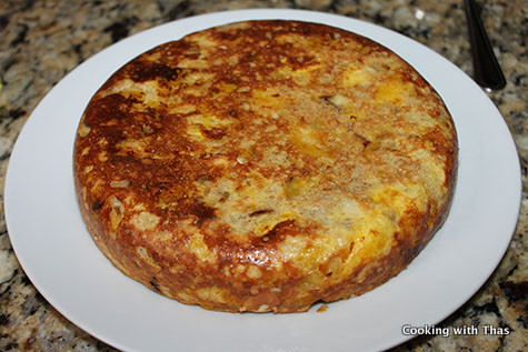 making bread plantain cake