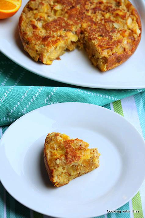 plantain bread cake