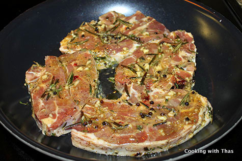 marinated lamb shoulder chops