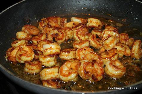 frying-shrimp
