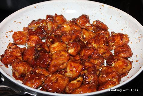 making sesame-soy-chicken