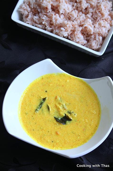 Coconut Yogurt curry