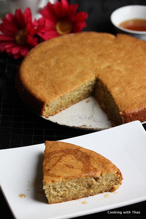 Maple Plantain cake