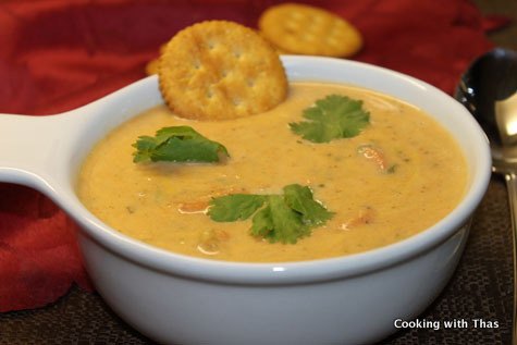 Creamy-veggie-soup