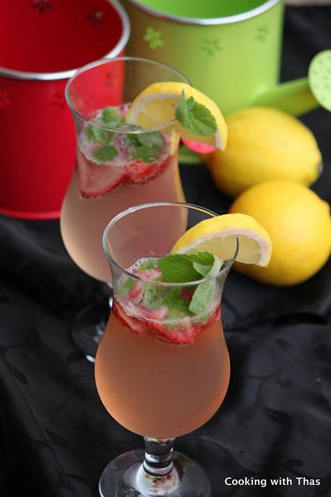 Ginger Lemon Soda