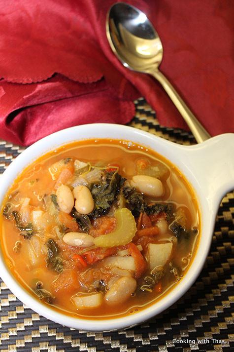 Italian-Minestrone-Soup