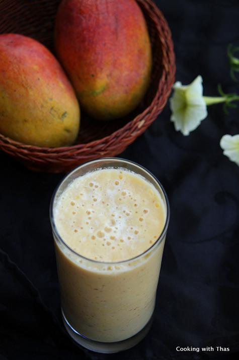Mango Dates Smoothie