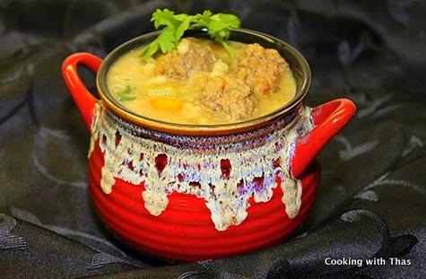 Meatball-Barley-Soup