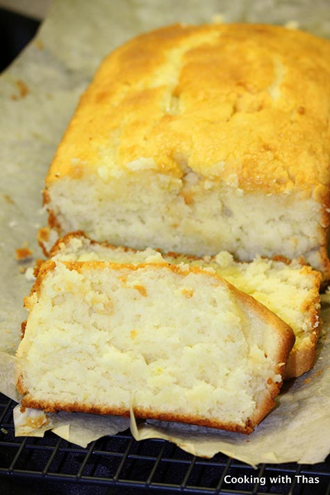 Key Lime- Coconut Yogurt Cake