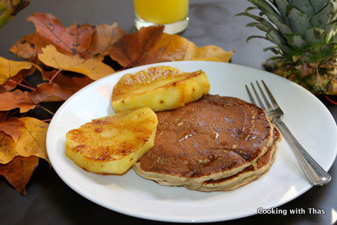 banana-wheat-pancake-drizzled-with-honey-1