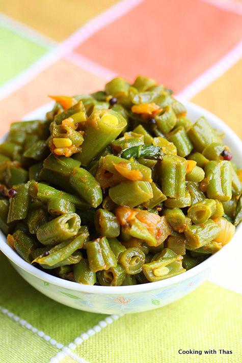 Beans-stir fry