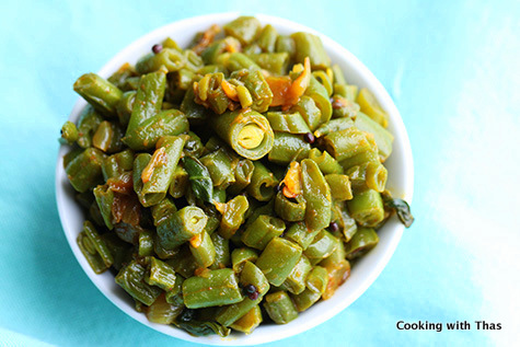 Beans stirfry
