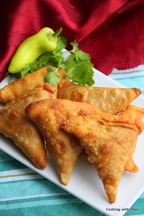Onion Samosa or Irani Samosa
