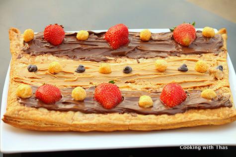 Puff pastry-dessert