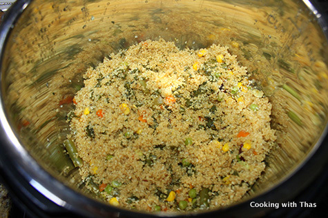 1 minute quinoa in instant pot