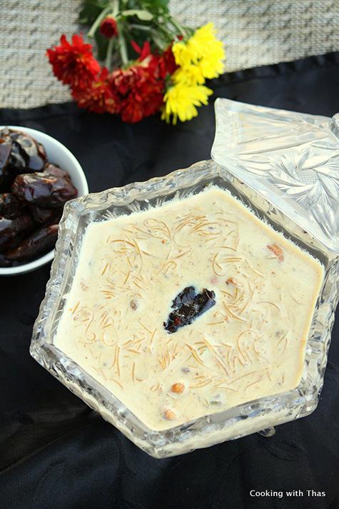 Dates Vermicelli in sweetened milk