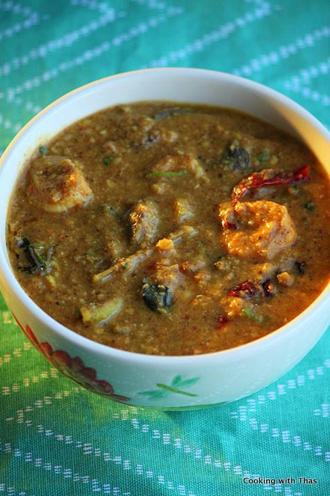 Shrimp Sambar